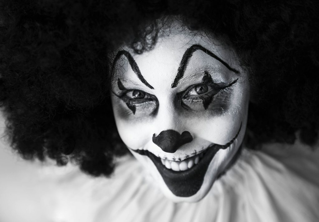 Why do we find clowns so creepy?